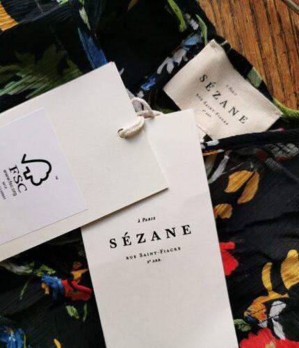 Sézane, il primo marchio prêt-à-porter con certificazione FSC
